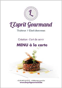 MENU A LA CARTE COVER b